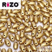 Matt Metál Arany - 10 g - Rizo gyöngy (01710AL)