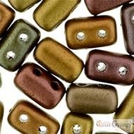 Matte Metallic Bronze Iris - 10 g - Rulla beads (K01640)