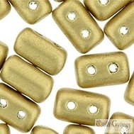 Matte Metallic Flax - 10 g - Rulla beads (M23980)