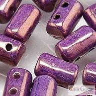 Luster Metallic Amethyst Chalk - 10 g - Rulla gyöngy 3x5mm (LE03000)