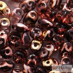 Copper Amethyst - 10 g - Superduo 2.5 x 5 mm (C20060)