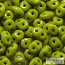 Opaque Olivine - 10 g - Superduo 5x2 mm (53410)