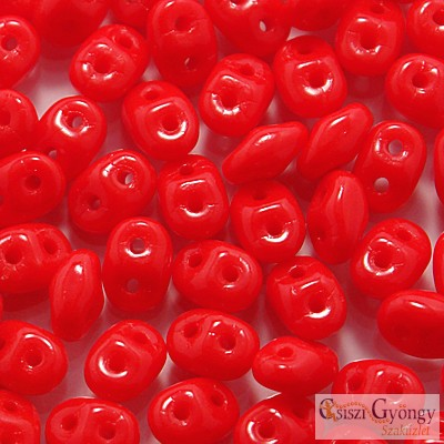 Opaque Red - 10 g - SuperDuo 5x2 mm (93200)