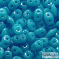 Opaque Turquoise Blue - 10 g - Superduo 5x2 mm (63030)