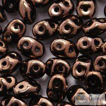 Dark Bronze - 10 g - Superduo 2.5x5 mm (LZ23980)