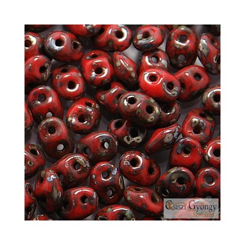 Op. Red Picasso - 10 g - SuperDuo 5x2 mm (T93200)