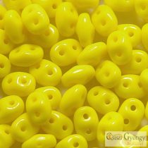 Yellow - 10 g - Superduo gyöngy 5x2mm (83120)