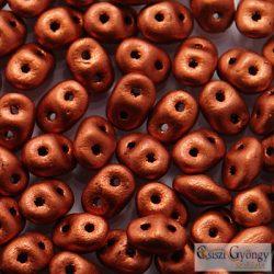 Matte Met. Dark Copper - 10 g - SuperDuo 2.5x5 mm (K0175)