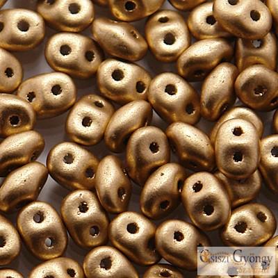 Matte Metallic Flax - 10 g - SuperDuo 5x2 mm (K0171)