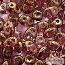 Lust. Transp. Gold Smoky Topaz - 10 g - Superduo 2.5x5 mm (LG00030)