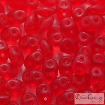 Matte Ruby - 10 g - Superduo 2.5 x 5 mm (M90080)