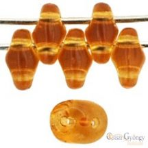 Transparent Med. Topaz - 10 g - SuperDuo 2.5 x 5 mm (10060)
