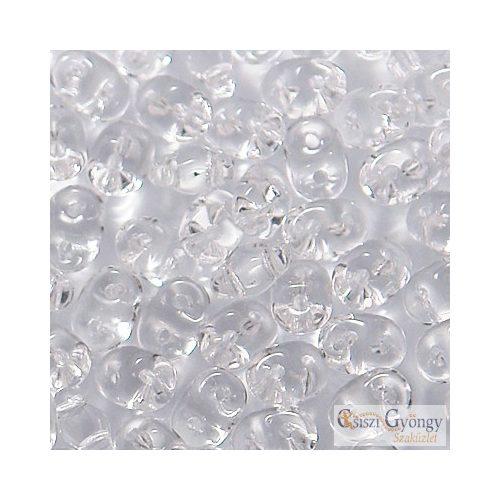 Transparent Crystal - 10 g - SuperDuo 5x2 mm (00030)