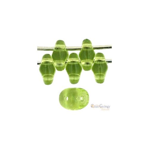 Transparent Olivine - 10 g - SuperDuo 5x2 mm (50230)