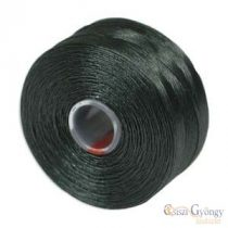 Deep Green - 1 Stk. - S-lon AA beading thread (ca. 75 yard)