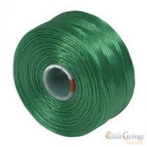 Green - 1 pcs. - S-lon Bead Cord AA, 75 yard