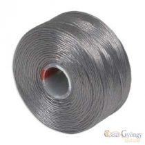 Grey - 1 pc. - S-lon AA beading thread (ca. 75 yard)