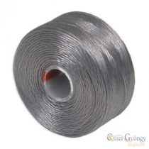 Grey - 1 Stk.. - S-lon AA beading thread (ca. 75 yard)