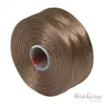 Light Copper - 1 pc. - S-lon AA beading thread (ca. 75 yard)