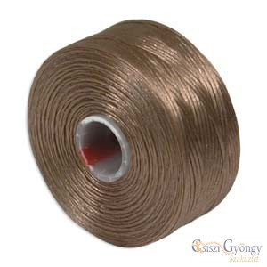 Light Copper - 1 db - S-lon AA gyöngyfűző cérna (kb. 68 m)