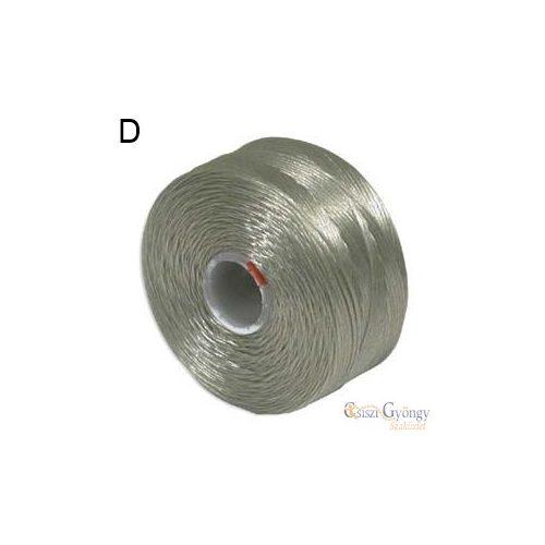 Hamuszürke - 1 db - S-lon D gyöngyfűző cérna, hossza kb. 71,5 méter