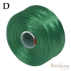 Green - 1 pcs. - S-lon D Bead Cord, 78 yard