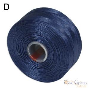 Royal Blue - 1 pcs. - S-lon D beading thread (ca. 78 yard)