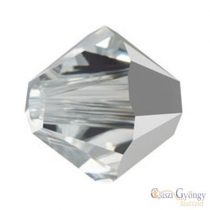 Crystal Comet Argint Light - 1 db - 4 mm Swarovski Crystal Bicone (5328)