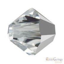 Crystal Comet Argint Light - 1 Stk. - 4 mm Swarovski Crystal Bicone (5328)