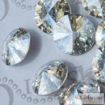 Crystal Moonlight - 1 db - 14 mm Swarovski Crystal Rivoli (1122)