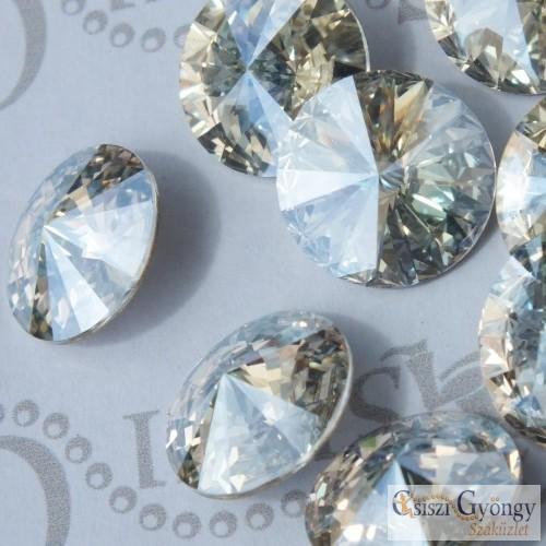 Crystal Moonlight - 1 db - 14 mm Swarovski Crystal Rivoli (1122)