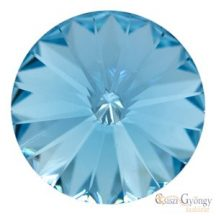 Aquamarine - 1 db - 18 mm Swarovski Rivoli (1122)