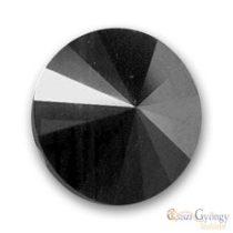 Hematite - 1 Stk. - Swarovski Rivoli 8 mm (1122)