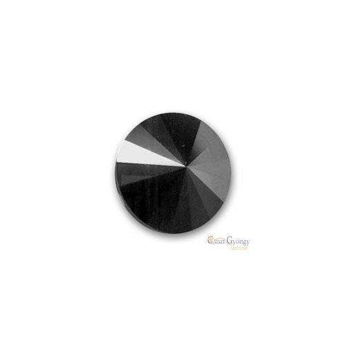 Hematite - 1 db - Swarovski Rivoli 8 mm (1122)