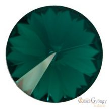 Emerald - 1 db - Swarovski Rivoli 8 mm (1122)