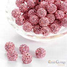 Rose Shmaballa gyöngy - 1 db - mérete:10 mm