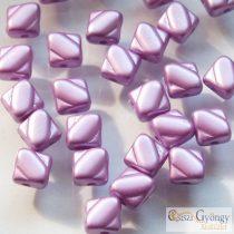 Pastel Lilac - 20 db - Silky gyöngy, mérete: 6 mm (25012)
