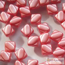 Pastel Paradise Pink - 20 pc. - Silky Beads, size: 6 mm (25007)