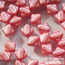 Pastel Paradise Pink - 20 db - Silky gyöngy 6 mm (25007)