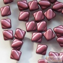 Pastel Burgundy - 20 pc. - Silky Beads, size: 6 mm (25031)