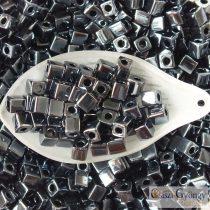 Gunmetal - 10 g - 4 mm Miyuki Square Beads