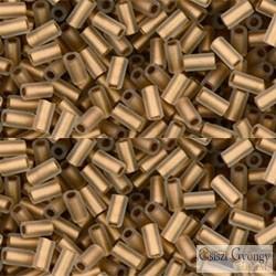 Gold Lined Frosted Crystal - 10 g - 3 mm Toho szalmagyöngy (989F)