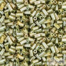 Luster Opaque Green - 10 g - 3 mm Toho Bugle Beads (Y183)