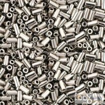 Nickel - 10 g - Toho Bugle Beads 3 mm (711)
