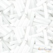 Opaque White  - 10 g - Toho Bugle Beads 9 mm (41)