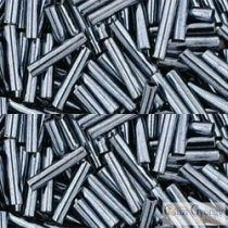 Metallic Hematite - 10 g - 9 mm Toho Bugle Beads (81)