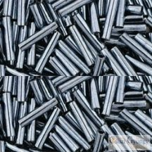 Metallic Hematite - 10 g - 9 mm Toho Bugle (81)