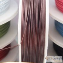 Cappuchino - 1 Roll (10 meter) - Tiger Tail stainless wire, 0.4mm
