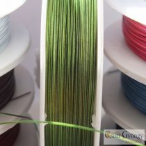 Green - 1 Roll (10 meter) - Jewelry Wire, 0.4mm