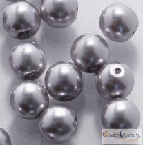 Burn Orange - 50 Stück - Tschechische Glaswachsperlen 3 mm (24244)